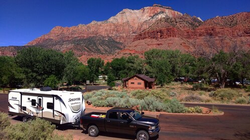 Watchman Campground, Zion